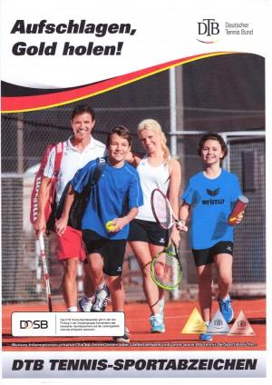 Tennis-Sportabzeichen